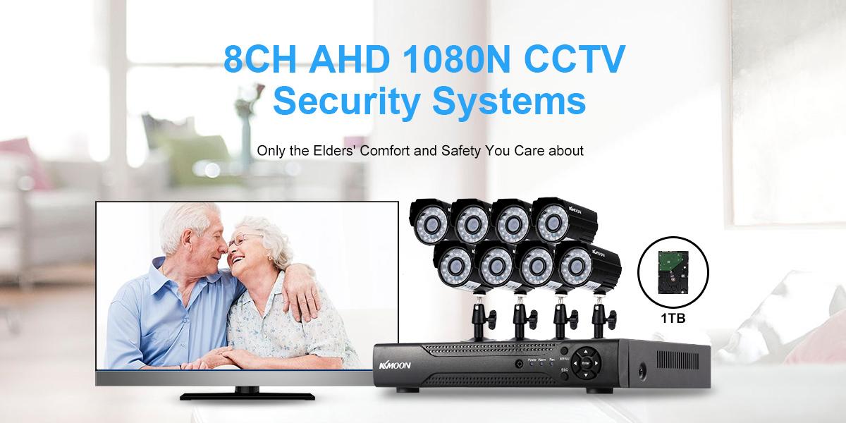 8CH AHD 1080N CCTV Security Systems