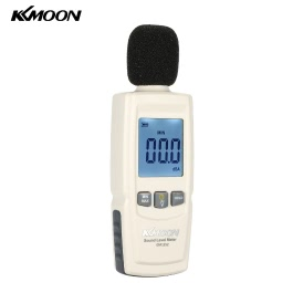KKmoon LCD Digital Sound Level Meter Noise Volume Measuring Instrument Decibel Monitoring Tester 30-130dB