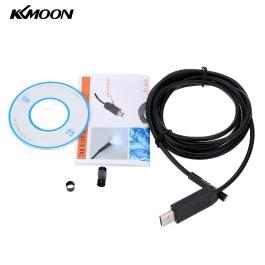 KKmoon 7mm 2m Mini Digital USB Endoscope Inspection Camera Adjustable Brightness for PC