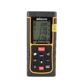 KKmoon RZE-70 70m/229ft Mini Digital Laser Distance Meter Range Finder Measure Distance Area Volume with Bubble Level