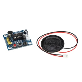 KKmoon ISD1820 Sound Voice Recording Playback Module with Mic Sound Audio + Loudspeaker