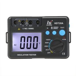 KKmoon HD HDT20A Insulation Resistance Tester Meter Megohmmeter Voltmeter 1000V w/ LCD Backlight