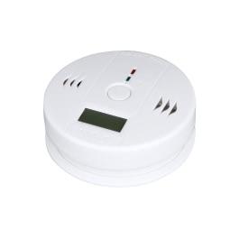 KKmoon LCD CO Carbon Monoxide Poisoning Sensor Monitor Alarm Detector White