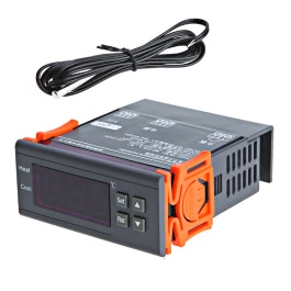 KKmoon 30A 220V Digital Temperature Controller Thermocouple -40℃ to 120℃ with Sensor