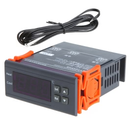 KKmoon 10A 220V Digital Temperature Controller Thermocouple -40℃ to 120℃ with Alarm Function