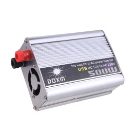500W Watt DC 12V to AC 220V + USB Portable Voltage Transformer Car Power Inverter