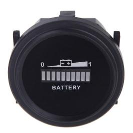 KKmoon Battery Status Charge Indicator Monitor Meter Gauge LED Digital 12V/24V/36V/48V/72V