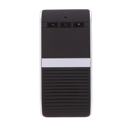 Wireless Bluetooth 4.0 Car Kit Hands Free Speakerphone Solar Powered Speaker Phone Handsfree + Car Charger