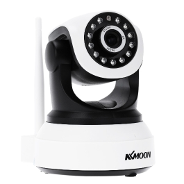 KKmoon Wireless Wifi 720P HD H.264 P2P 1MP AP IP Network Home IR Security Camera P/T Webcam