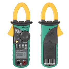 KKmoon MS2108A Digital Clamp Multimeter Frequency Max./Min.Value Measurement Holding Lighting Bulb Carrying Bag