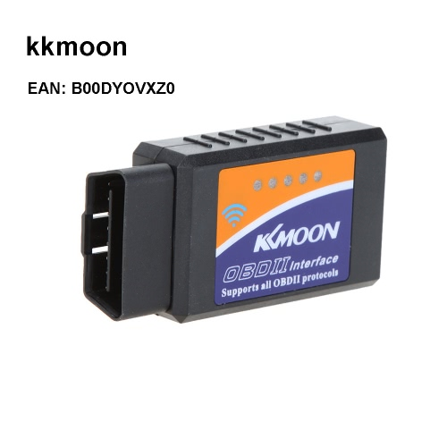 KKmoon WIFI Wirless OBD2 Car Diagnostic Reader Scanner Scan Tool for Iphone iPod iOS Device